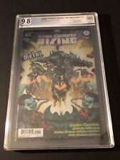 Dark Knights Rising: The Wild Hunt 1 9.8 Grade PGX Chrome Cover
