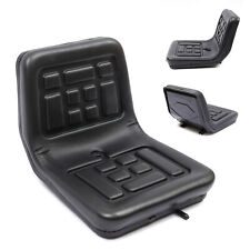 More details for universal black tractor seat with/ backrest horizontally adjustable 140mm uk