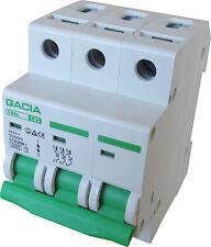 Leitungsschutzschalter GACIA SB6L 3P C25A, Sicherungsautomat MCB