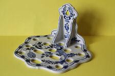 Halter für Küchenhelfer Utensilien Keramik  Zwiebelmuster Wandhalter
