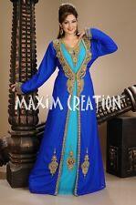 Dubai wedding gown Royal Kaftan fancy abaya jalabiya Arabic khaleeji party 4428