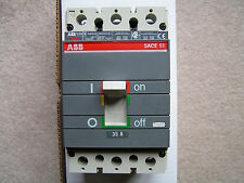 ABB #S3N Circuit Breaker 35 Amps 600VAC or less VGC!!! Free Shipping