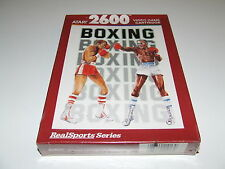 REAL SPORTS BOXING by ATARI for Atari 2600 new SUPER CONDITION RARE LIKE THIS
