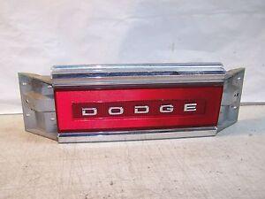 1991 Dodge Dynasty Tail light Center brake light