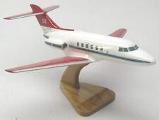 Hawker Siddeley HS-125 Airplane Desktop Wood Model Large