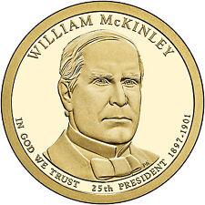 2013 William McKinley Golden Dollar P&D BU set