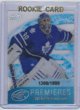 11-12 UD Upper Deck Ice Ben Scrivens #51 Rookie Card RC Ice Premieres Mint /1999