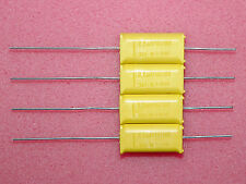 2 x NOS 2.2uF 100V Philips Chicklet MA 341 HQ Axial Capacitors