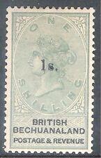 Bechuanaland 1888 green/black 1/- on 1/- mint  SG28