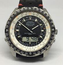Scarce Breitling Navitimer 2300 Jupiter Military Pilot's Watch Ref 80970 #10435n