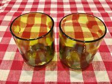 12 oz Wine Bottle Cocktail Rocks Glasses Pair (2)
