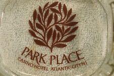 TQ-063 Park Place Casino Hotel, Atlantic City, NJ Glass Cigarette Ashtray Vintge