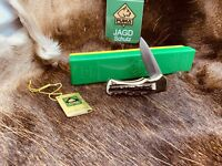1977 Puma 745 4 Star Knife With Stag Handles Mint In G / Y Factory Box With Tag
