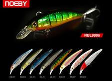 Noeby leurre flottant pêche mer rivière carnassier 12cm 22g couleur 4 nage 0-1.5