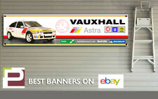 Vauxhall Astra GTE Sport Rally Car Banner, for Workshop, Garage, Opel Kadett 16v
