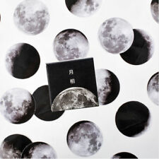 45Pcs Moon Style Mini Paper Decoration DIY Scrapbook Notebook Album Seal Sticker