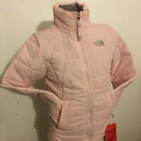 BNWT The North Face Girls Insulated Harway Jacket In Medium (10-12) Purdy Pink
