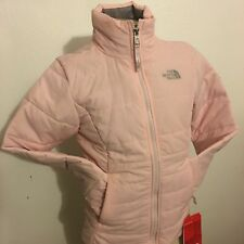 BNWT The North Face Girls Insulated Harway Jacket In Small (7-8) Purdy Pink