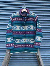 Vintage WOOLRICH USA Aztec/Native wool blanket jacket M oi polloi