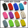 New Key Cover For Ford Case Remote Fob Protector 3 Button Shell Bag Hull Car 43*