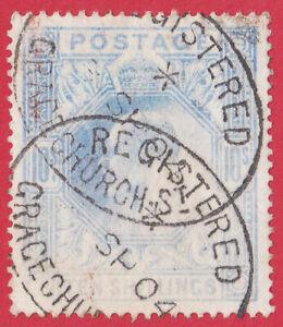 GB KEVII 1902  10s  ULTRAMARINE SG265 SPACEFILLER