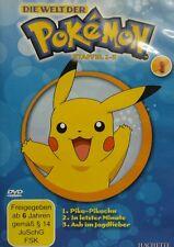 Die Welt der Pokémon - Dvd - Staffel 1-3 - 3 Folgen