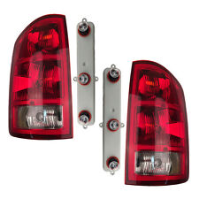Pair Tail Lights w/ Circuit Boards & Bulbs Fits Dodge Ram 2002-2006 Left & Right