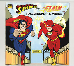SUPERMAN And FLASH RACE AROUND THE WORLD - GORGEOUS NM/M Condition - 1996