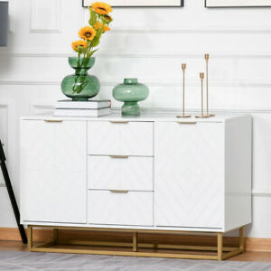 Industrial Style Sideboard Cabinet Drawer Cupboard Storage Unit Modern Tv Stand