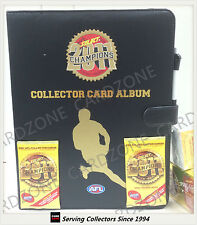 AFL TRADING CARD OFFICIAL ALBUM--2011 Select AFL Champions Trading Card Album