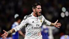 Poster 42x24 cm Sergio Ramos Real Madrid Futbol 13