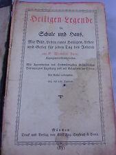 Heiligen Legende altes 750zig seitiges Buch,375 Stahlstichen sämtlicher Heiliger
