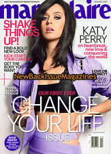 Marie Claire 1/14,Katy Perry,January 2014,NEW