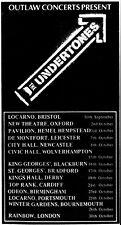 The Undertones '79 Uk Tour Melody Maker Concert Ad Reprint