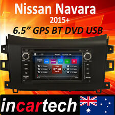 Nissan Navara D23 NP300 15 16 GPS Navigation Sat Nav DVD Stereo Bluetooth USB