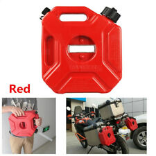 5L Fuel Tank Jerry Cans Spare Plastic Petrol Tanks Mount Motorcycle Gas Can Kit