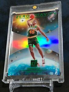 Shawn Kemp 2020-21 Panini Donruss Clearly Zero Gravity Green 03/25 Legendary SP!