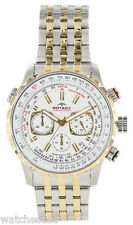 Rotary Mens Aquaspeed White Dial Stainless Steel Bracelet Watch GB00171/06