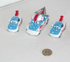 Disney Pixar Cars Toon Lot 3-Pack Mater the Great Tia & Mia Diecast Metal 1:55