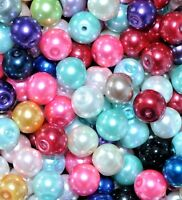 AAA glass pearl beads, 6 mm (15,000+ pcs) & 8 mm (10,000 pcs+) option for colour