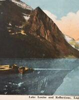 Postcard, 1922 Lake Louise Laggan Alberta Canada Vintage P31