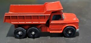Vintage DIECAST Matchbox Lesney No. 48 Dumper Truck Red Made In England *No Box