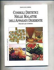 Cornia # CONSIGLI DIETETICI NELLE MALATTIE DELL'APPARATO DIGERENTE # 1991 - V