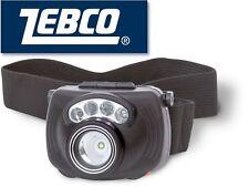 Zebco Sensor LED Kopflampe 3W, Stirnlampe für Angler, Angellampe
