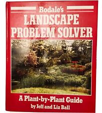 Vintage Rodale's Landscape/Gardening Book Problem Solver A Plant By Plant Guide