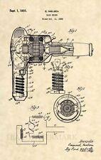 Official Hair Dryer US Patent Art Print - Vintage Salon Blow Dryer Stylist 472