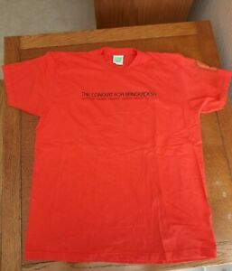 George Harrison Concert for Bangladesh T-shirt - pre owned, never worn