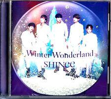 SHINee – Winter Wonderland CD (2016 K-Pop JAPAN Single) UPCH-80456 Christmas