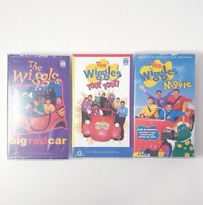 The Wiggles 3 x VHS Movie Lot Video Free Postage PAL AUS Kids Cartoon Toot Toot
