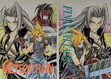"New listing Final Fantasy Vii 7 Lot of two Doujinshi ""Meteor Rain"" & ""Final Attack!"""